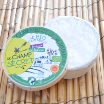 Camembert bio fermier Champ secret